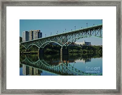 Gay Street Bridge Framed Print