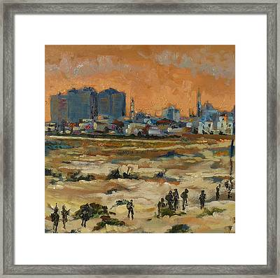 Gaza Landscape 021 Framed Print by Gavin Sane