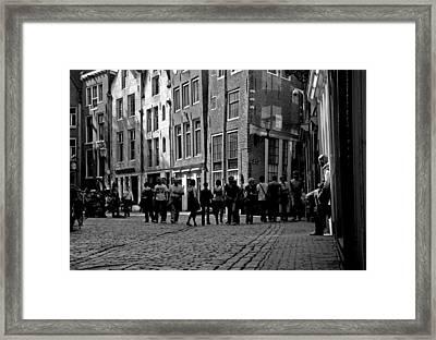 Gaze Framed Print by Darren Scicluna
