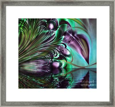 Gaze Framed Print by Mindy Sommers