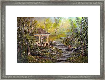 Gazebo's Light Framed Print