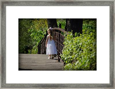 Gazing At Beauty Framed Print