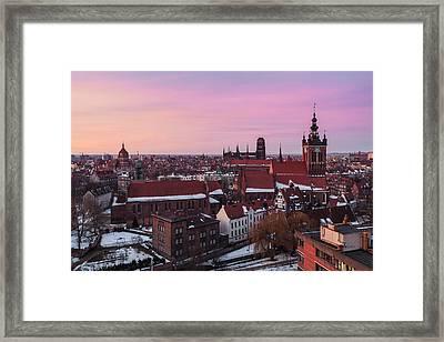 Gdansk 02 Framed Print