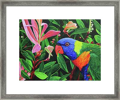G'day, Mate Framed Print by Julie Turner