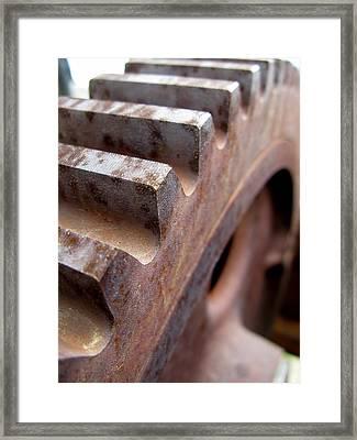 Gear Framed Print
