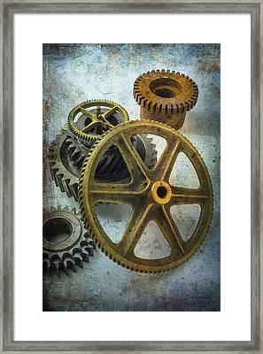 Gear Still Life Framed Print