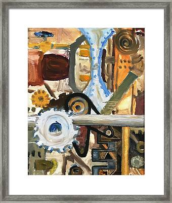 Gears In The Machine Framed Print