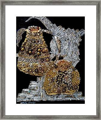 Gears Of Aquarius Framed Print