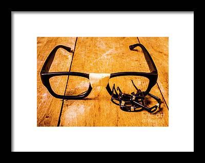 Optometry Framed Prints