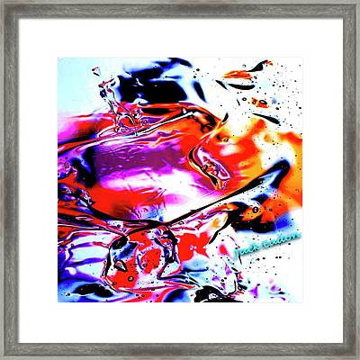 Gel Art #14 Framed Print by Jack Eadon