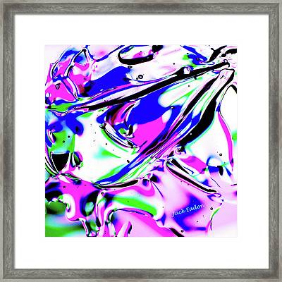 Gel Art#18 Framed Print by Jack Eadon