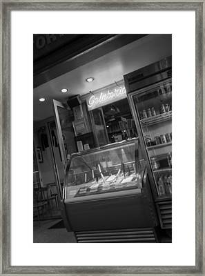Gelateria Framed Print