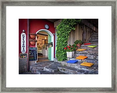 Gelato Shop Framed Print