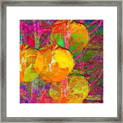 Gelbe Tulpen Framed Print
