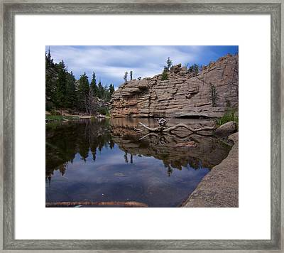 Gem Lake Framed Print
