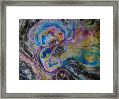 Gemini Framed Print by Chua Jeen Tee