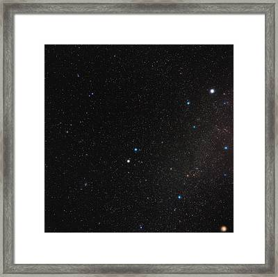 Gemini Constellation Framed Print by Eckhard Slawik