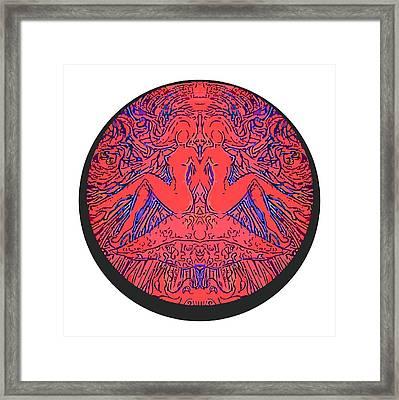 Gemini Framed Print by Jordan Kotter
