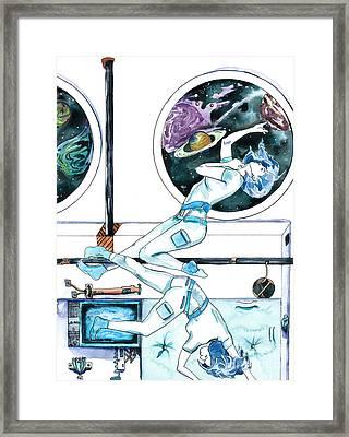 Gemini Journey Pollux Pleads Framed Print by D Renee Wilson