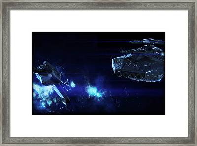 Gemini Wars Framed Print