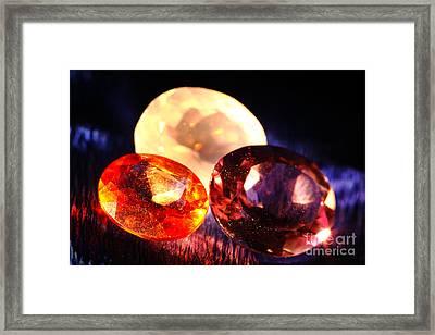 Gems Framed Print by Gaspar Avila