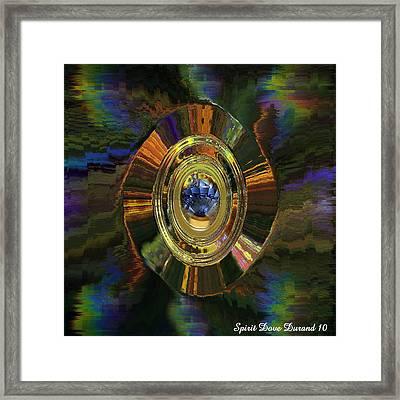 Gemstone For Christmas Framed Print by Spirit Dove  Durand