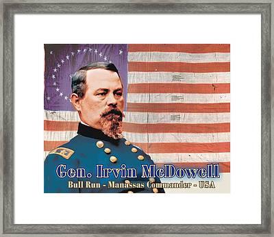 Gen. Irvin Mcdowell Framed Print