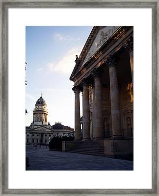 Gendarmenmarkt Framed Print