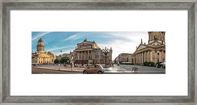 Gendarmenmarkt Platz / Berlin Framed Print