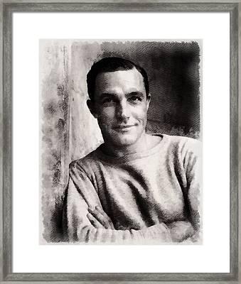 Gene Kelly, Actor And Dancer Framed Print