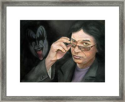 Gene Simmons Framed Print