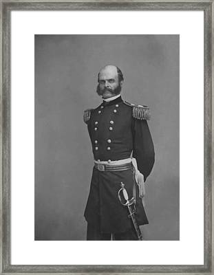 General Ambrose Everett Burnside Framed Print