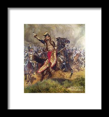 Comte Framed Prints