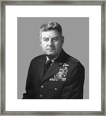 General Curtis Lemay Framed Print