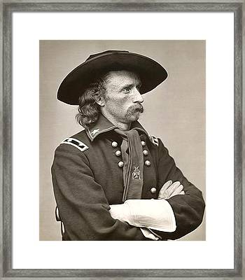 General Custer Framed Print by Bill Cannon