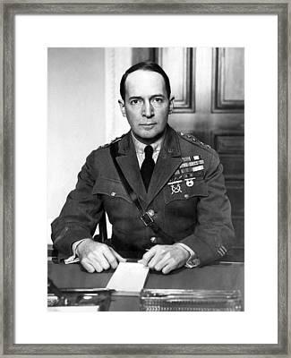 General Douglas Macarthur, 1880-1964 Framed Print