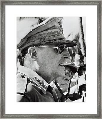 General Douglas Macarthur, 1944 Framed Print