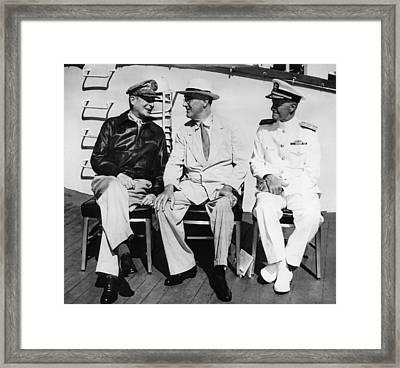 General Douglas Macarthur, President Framed Print by Everett