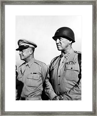 General Dwight Eisenhower, General Framed Print