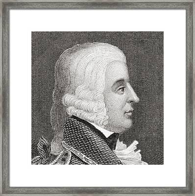 General Edward Braddock, 1695 To 1755 Framed Print by Vintage Design Pics