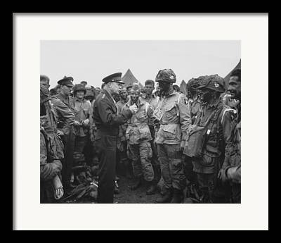 General Dwight D Eisenhower Framed Prints