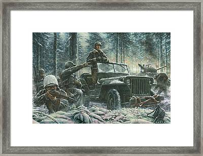 General George Patton Framed Print
