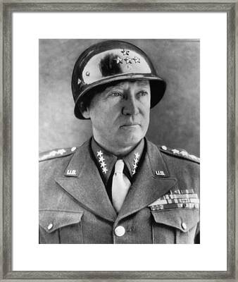 General George S. Patton Jr. 1885-1945 Framed Print