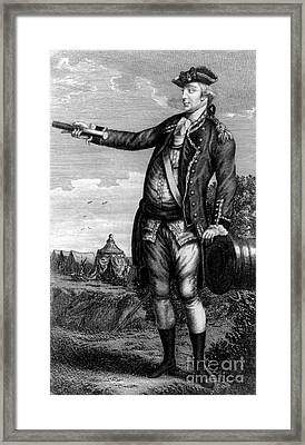 General George Washington Framed Print