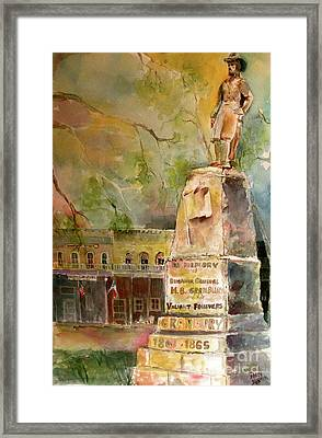 General Granbury Framed Print