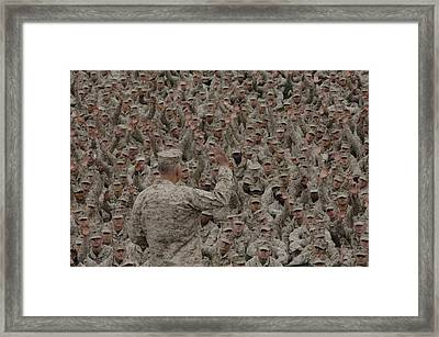 General James Conway Marine Corps Framed Print by Everett