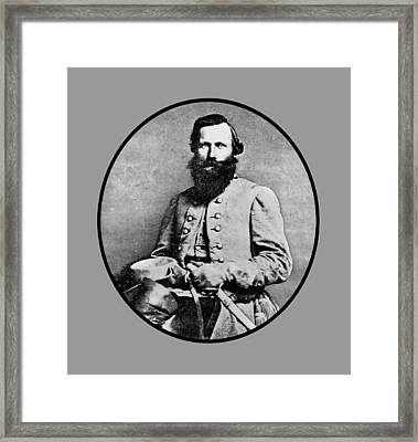General Jeb Stuart Framed Print by War Is Hell Store