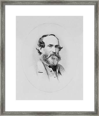 General Jubal Early Framed Print by War Is Hell Store