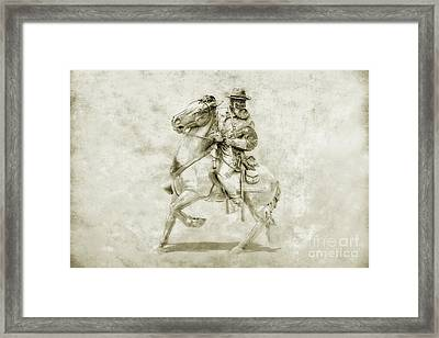 General Longstreet At Gettysburg Framed Print