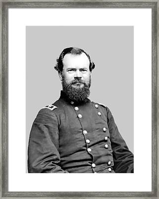 General Mcpherson Framed Print